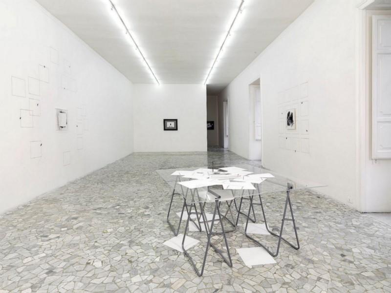 Giulio Paolini, QUESTO E/O QUEL QUADRO, partial view of the exhibition, March 2009