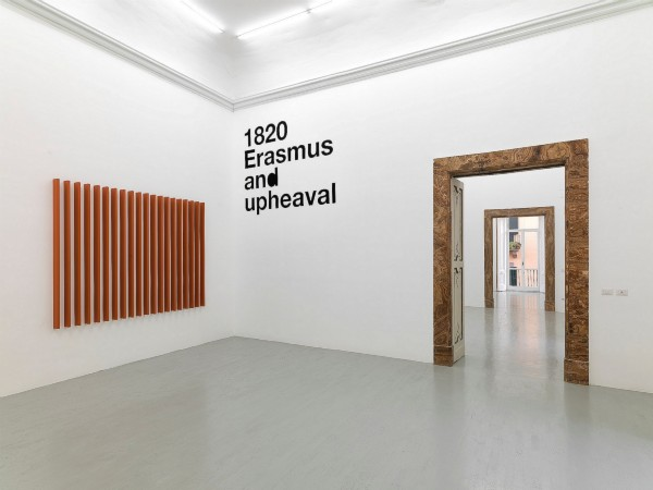 Liam Gillick, Four Propositions Six Structures, partial view of the exhibition, November 2012