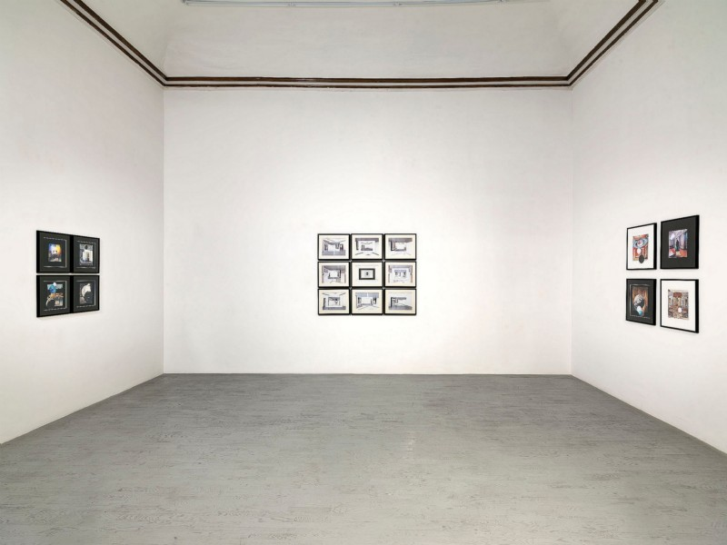 Giulio Paolini, partial view of the exhibition, February 2014