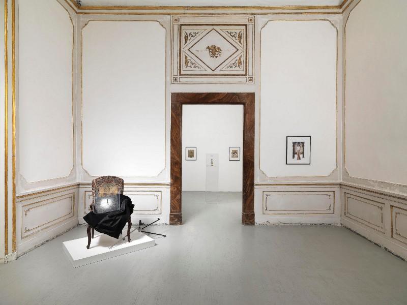 Giulio Paolini, Rinascita di Venere, partial view of the exhibition, February 2018