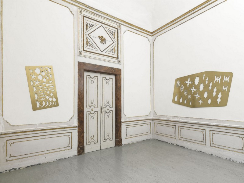 Rita McBride, PATTERN AND DECORATION, partial view of the exhibition, September 2014