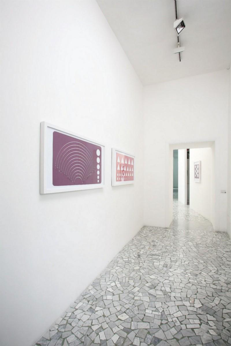 Rita McBride, partial view of the exhibition, May 2007