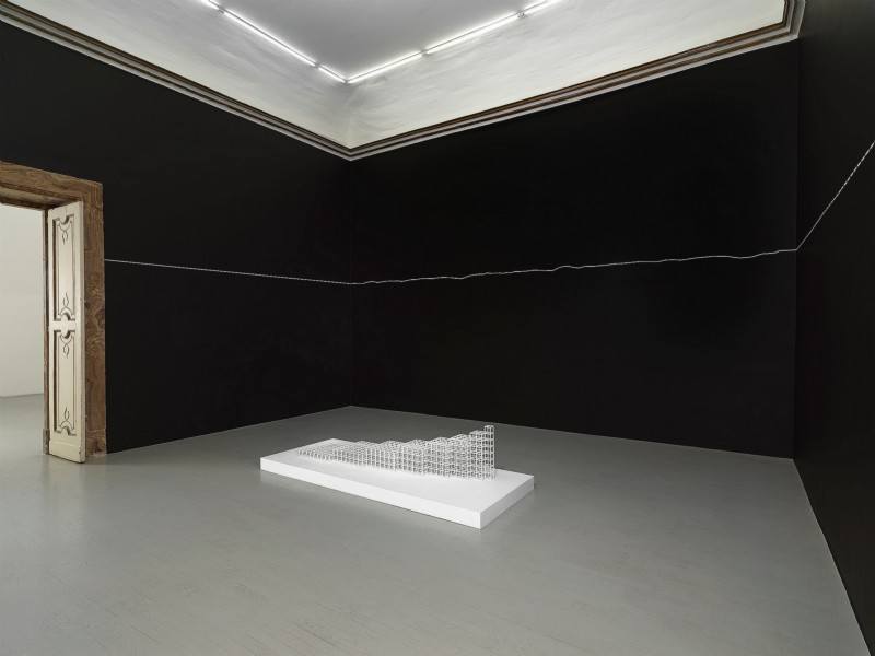 Sol LeWitt: Lines, Forms, Volumes 1970s to Present, partial view of the exhibition, September 2019