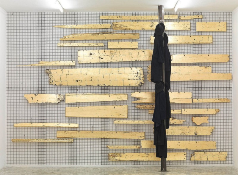 Jannis Kounellis, partial view of the exhibition, September 2009