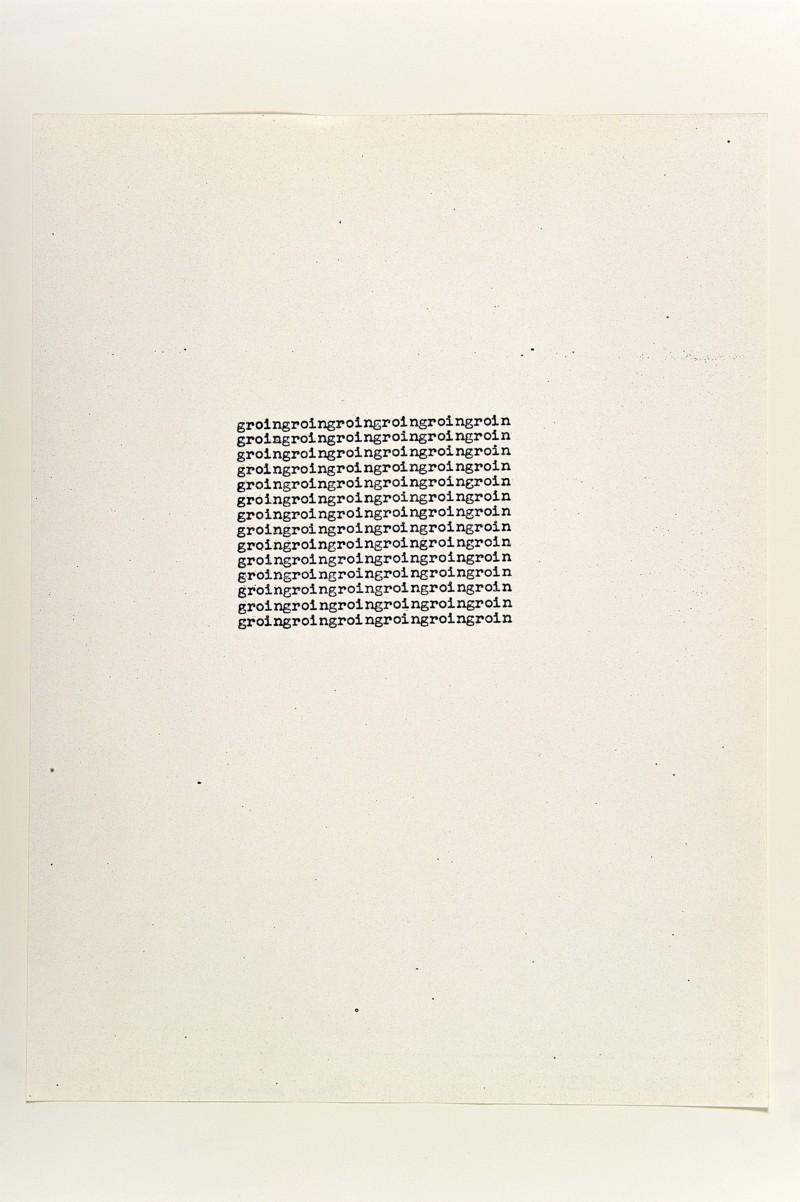 groin, 1963, xerox, cm 28 x 21,5