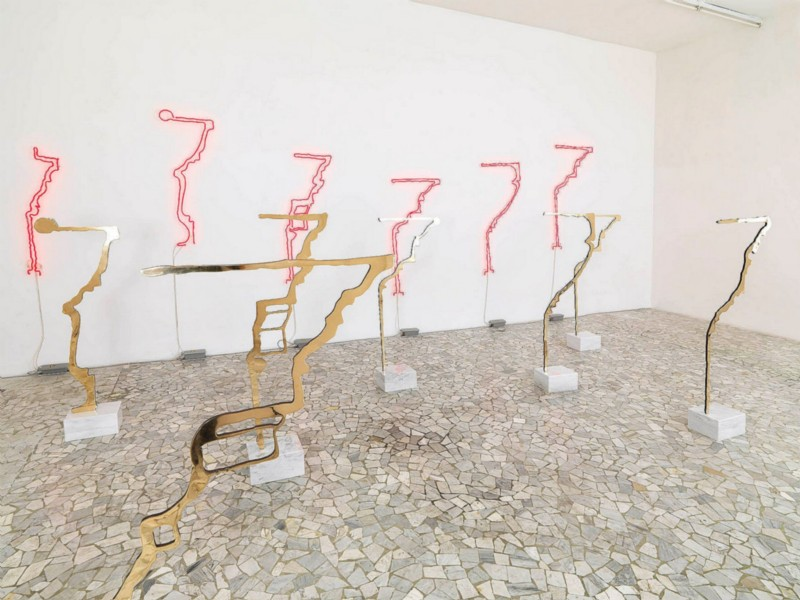Rita McBride, Profili, partial view of the exhibition, May 2010
