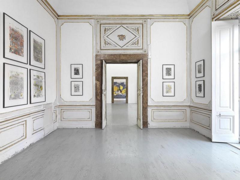 Tursic & Mille, pasta al nero di seppia, partial view of the exhibition, June 2015