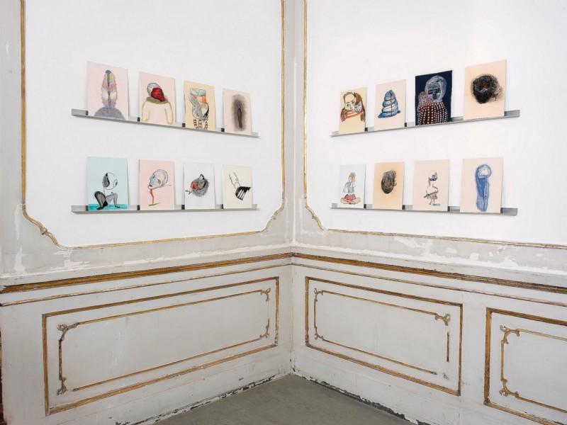Victoria Civera, partial view of the exhibition, November 2013