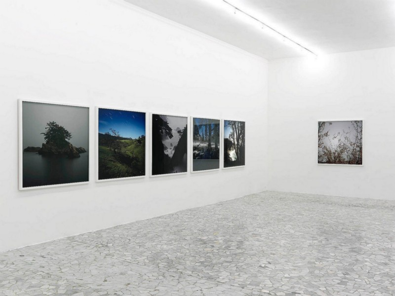 Darren Almond, partial view of the exhibition, October 2007