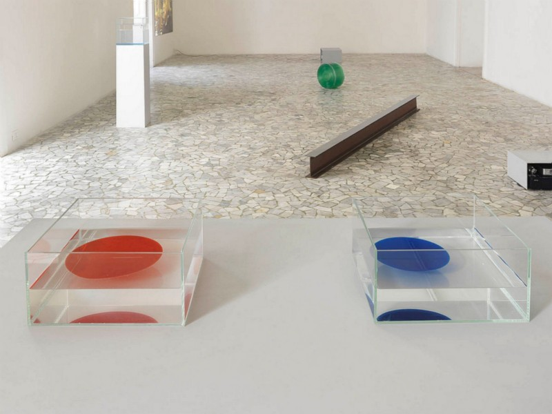 Ann Veronica Janssens, partial view of the exhibition, February 2010