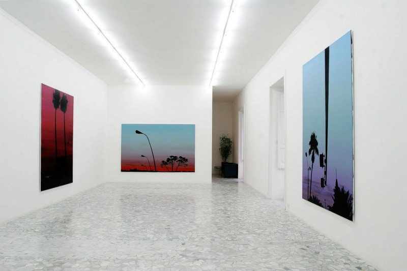 Glen Rubsamen, Euphoric, Narcotic and pleasantly hallucinant, partial view of the exhibition, May 2004