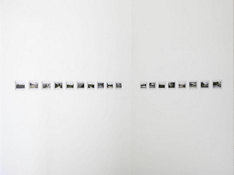 Botto & Bruno, Silent walk, partial view of the exhibition, June 2014