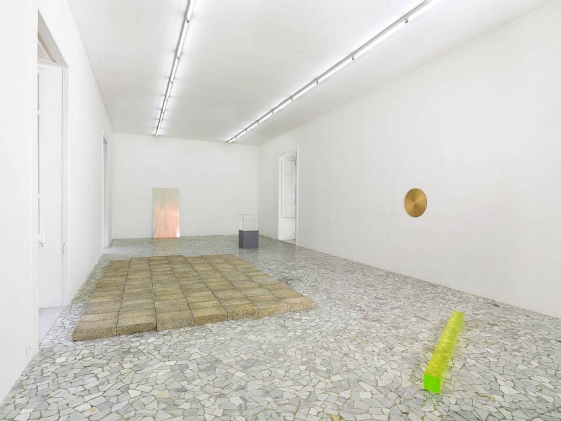 Ann Veronica Janssens, partial view of the exhibition, April 2012