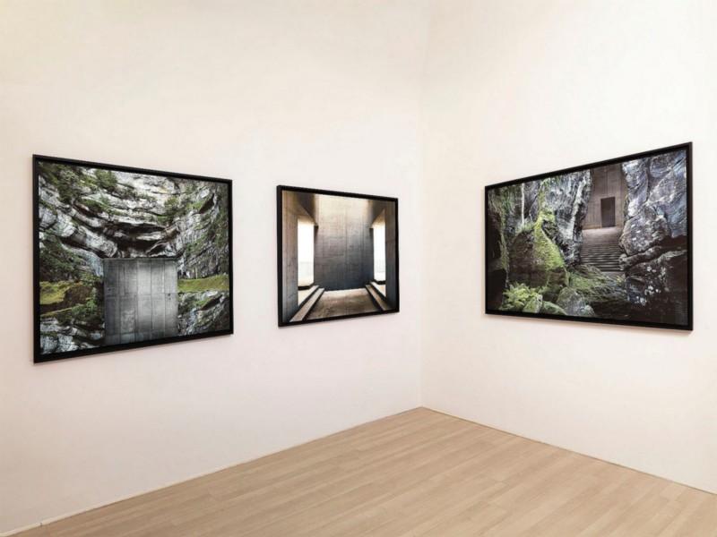 Gioberto Noro, partial view of the exhibition, September 2010