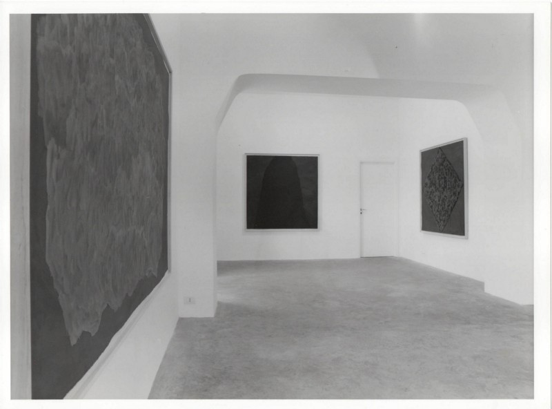 Sol LeWitt, partial view of the exhibition, July 1998