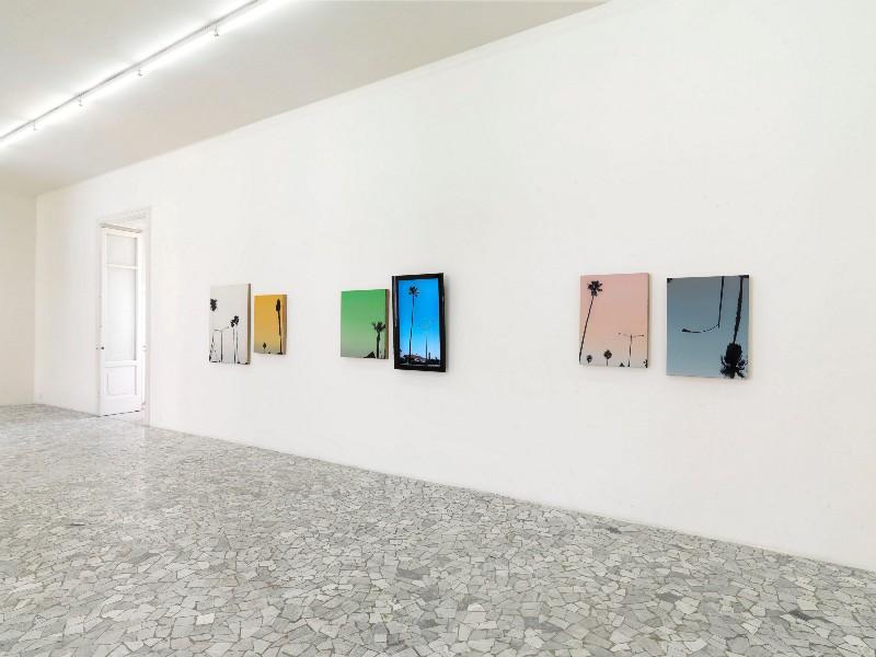 Glen Rubsamen, Fuga nella verità, partial view of the exhibition, June 2008